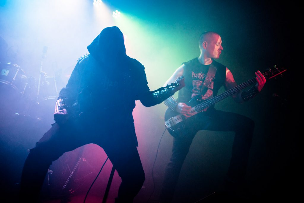 Necromaniac perform at Nambucca in London
