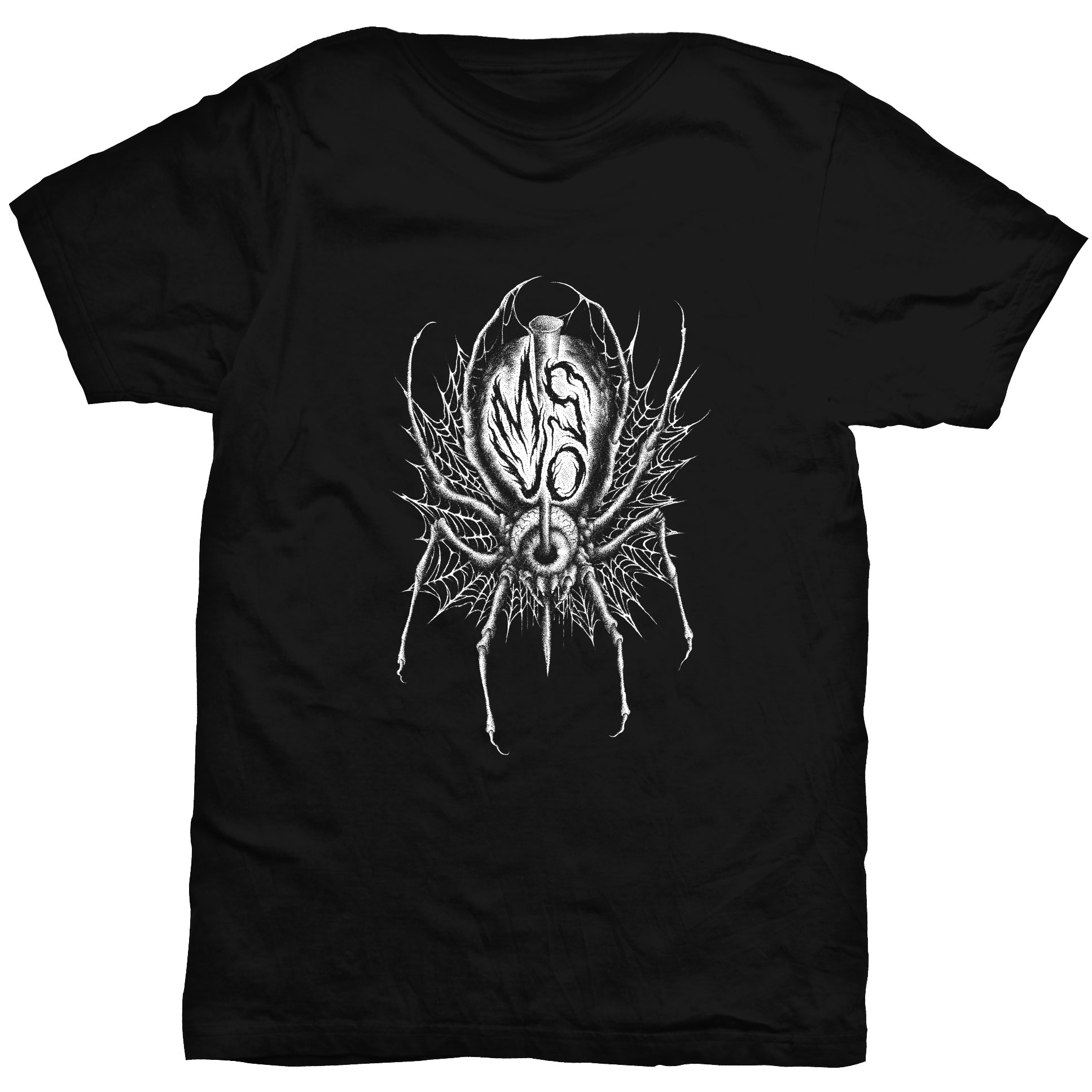 msuo spider t shirt me saco un ojo records