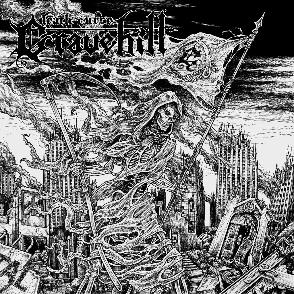 GRAVE HILL - Death Curse LP (BLACK)