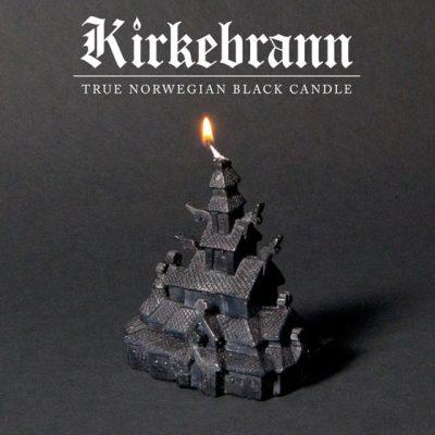 Kirkebrann candle