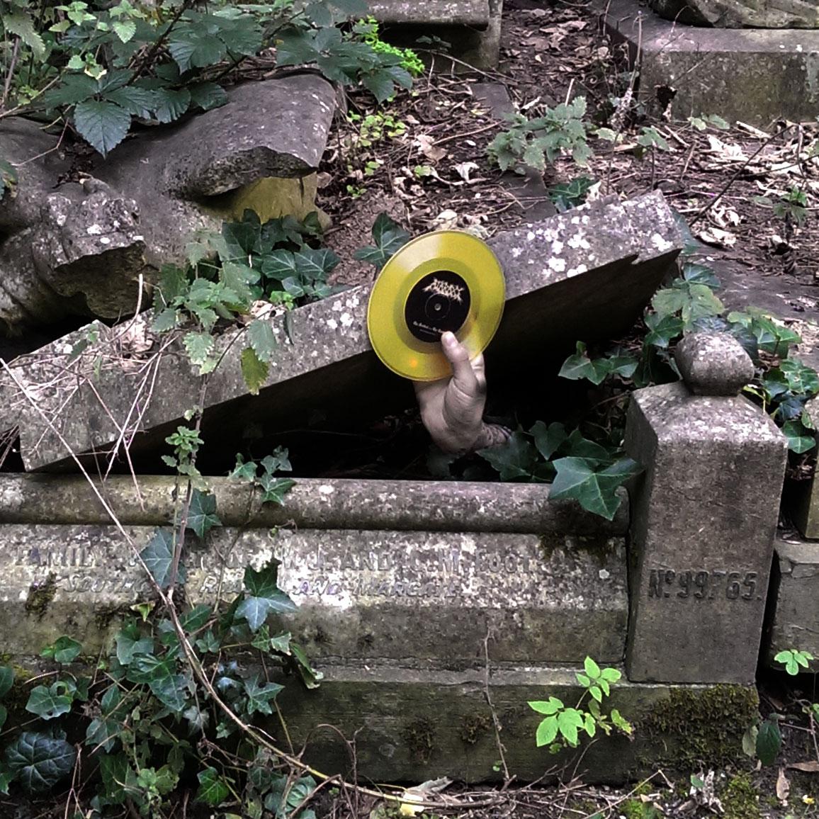 "Ataraxy: The Festival / The Tomb 7"" (limited yellow vinyl)"