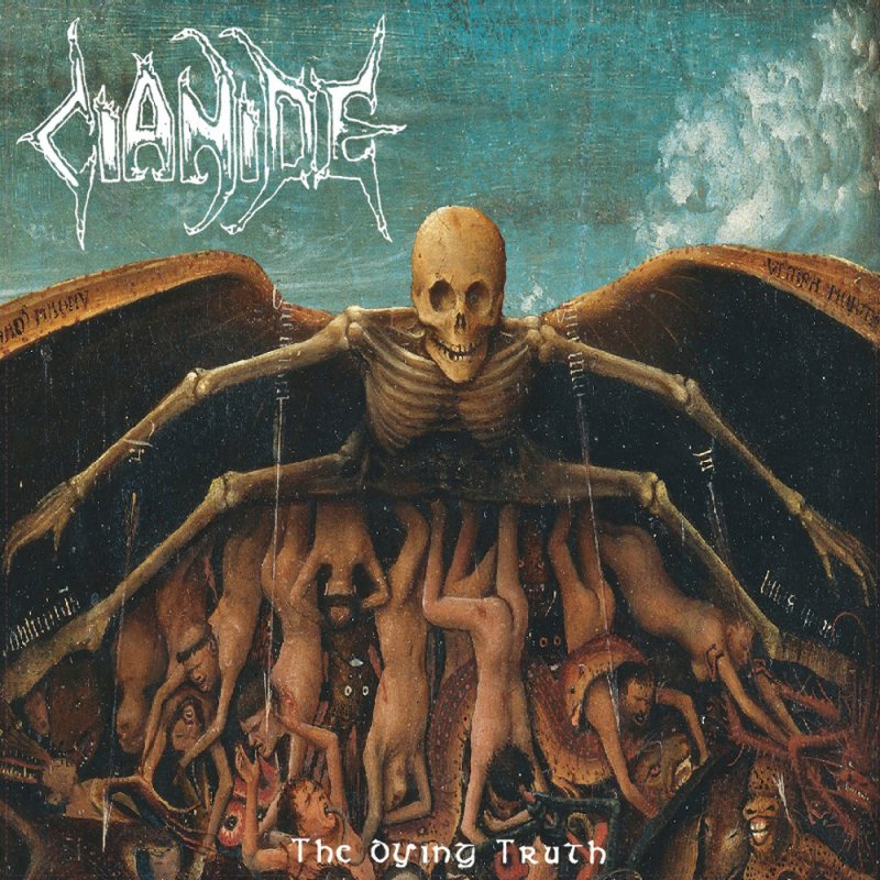 CIANIDE-The-Dying-Truth-Original-1992-Mix-LP-BLACK