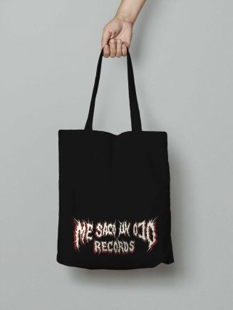 me saco un ojo records logo tote bag