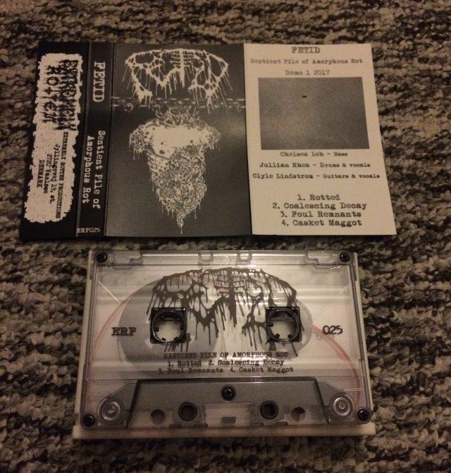 "Fetid - ""Sentient Pile of Amorphous Rot"" MC"