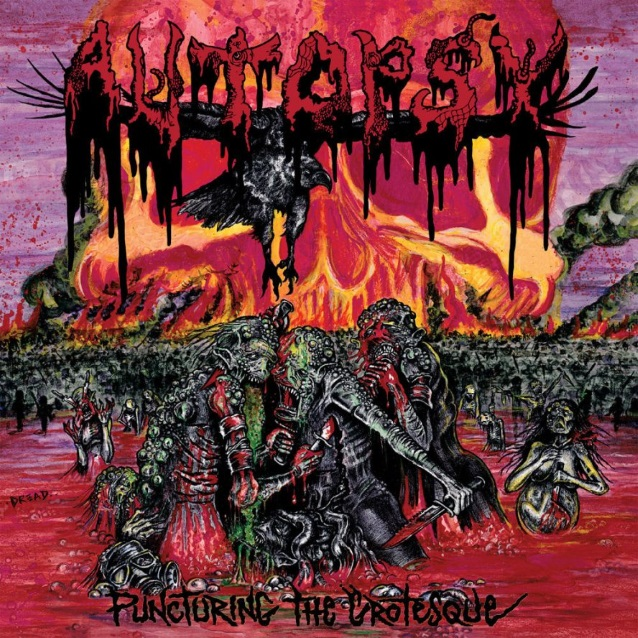 Autopsy	Puncturing The Grotesque LP