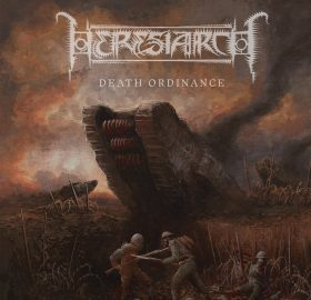 HERESIARCH – DEATH ORDINANCE LP (OXBLOOD VINYL)