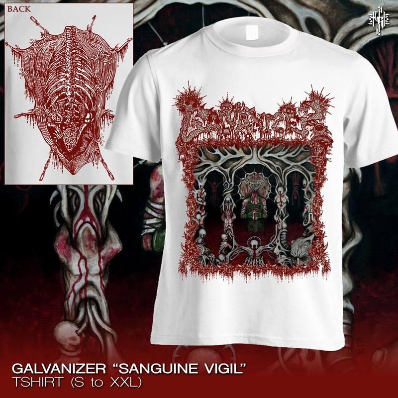 Galvanizer Sanguine Vigil T Shirt White