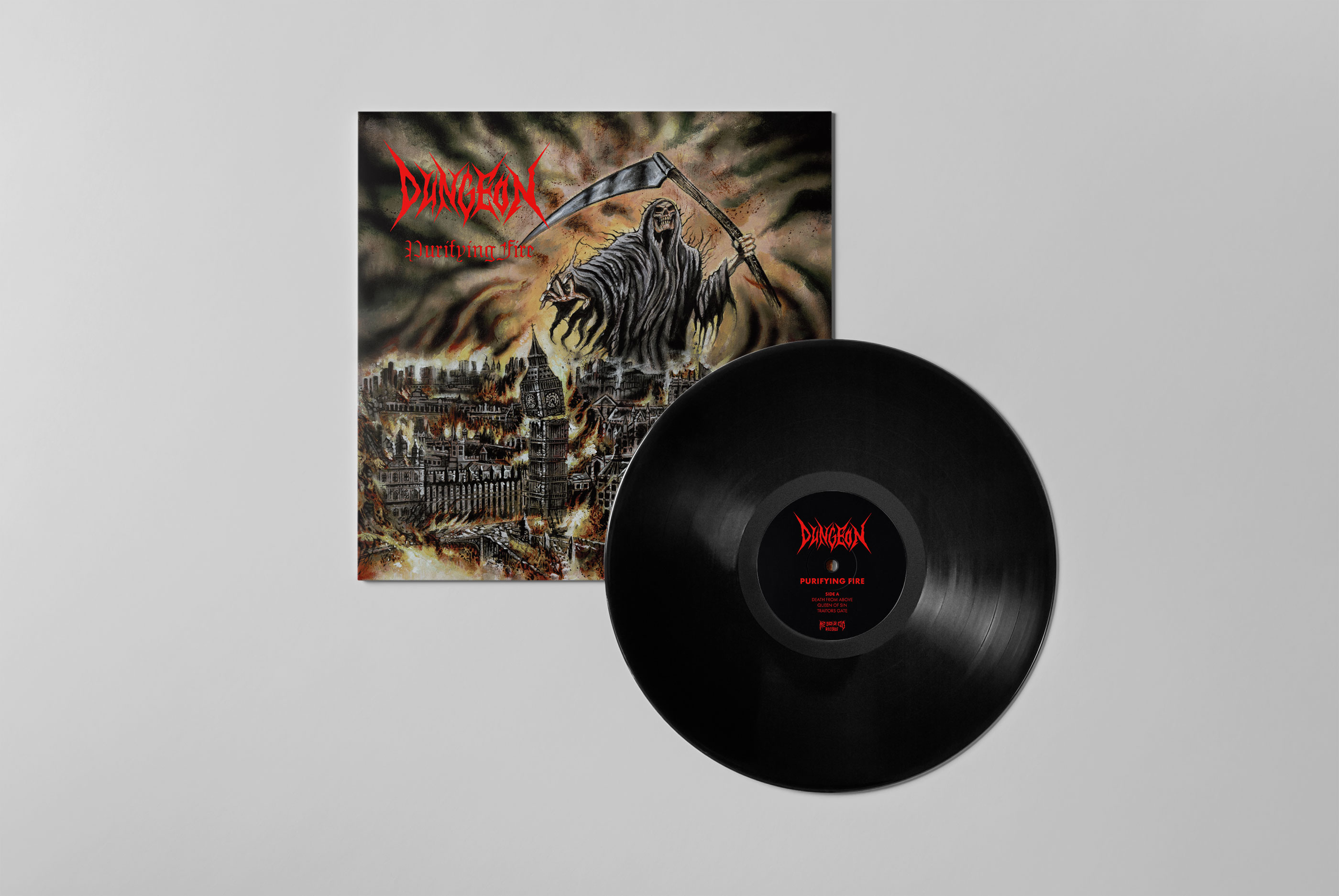 Dungeon – Purifying Fire on vinyl
