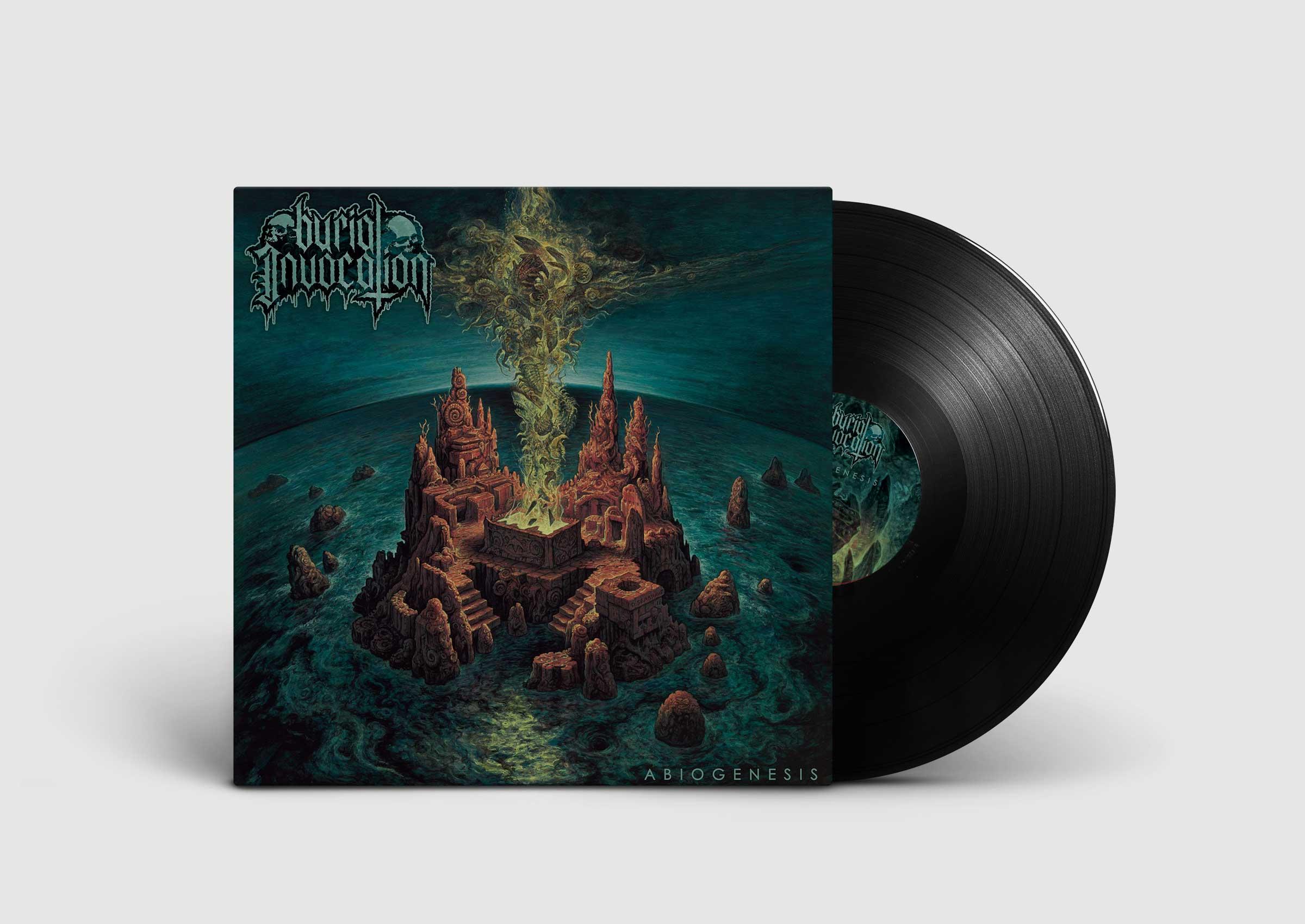 Burial Invocation Abiogenesis vinyl