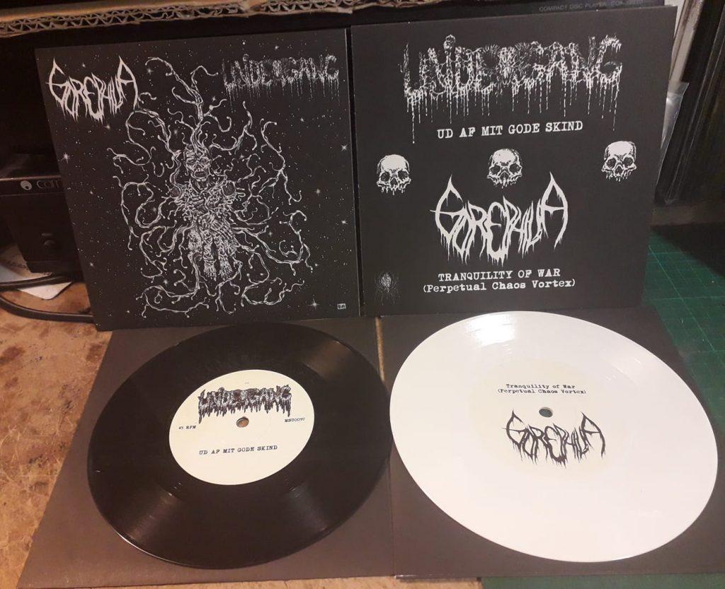 Undergang Gorephilia Split EP