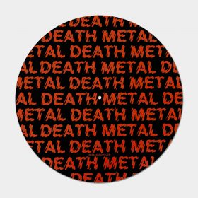 Death Metal felt slipmat