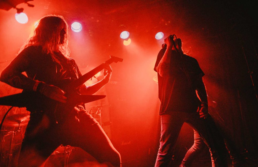 Hyperdontia playing at Kill Town Death Fest 2018