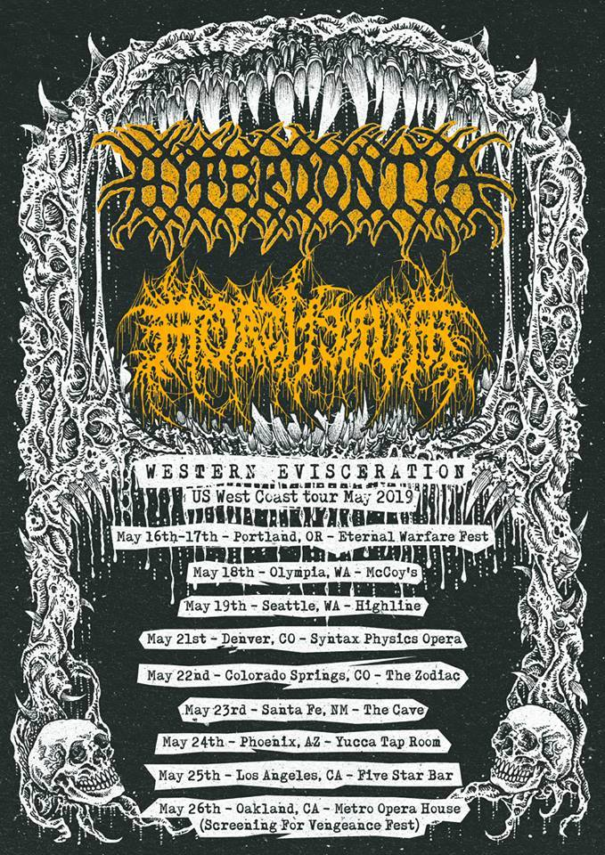 Hyperdontia and Mortiferum tour
