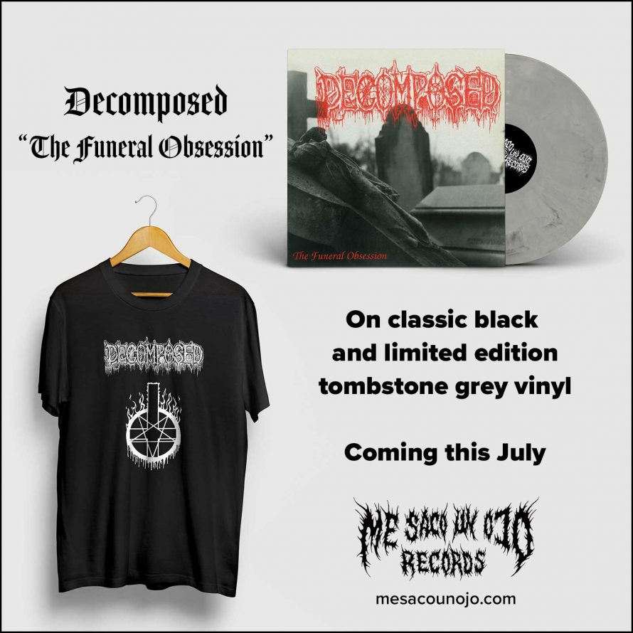 Decomposed The Funeral Obsession t-shirt