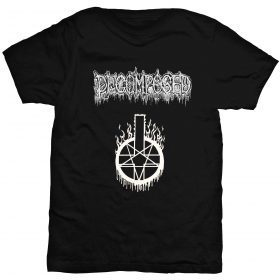 Decomposed logo t-shirt