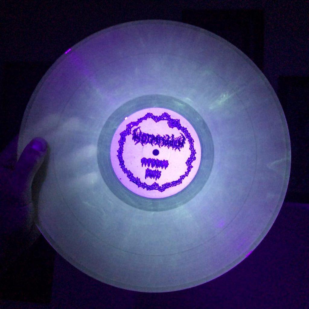 Wormridden glow in the dark vinyl record