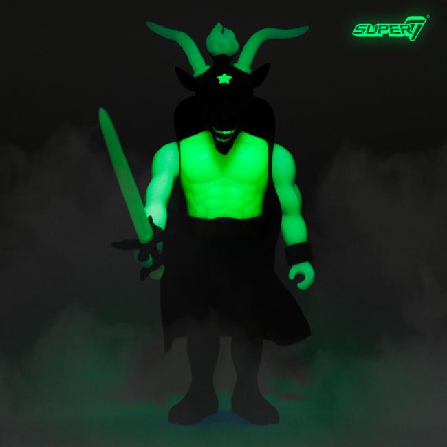 Slayer glow in the dark action figure