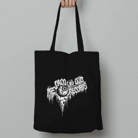 Me Saco Un Ojo Records eyeball tote bag