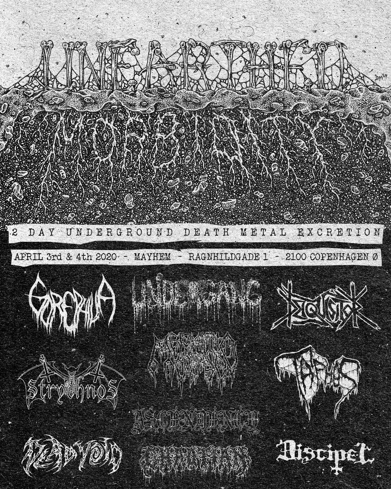 Unearthed Morbidity fest