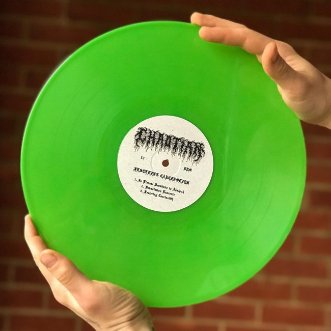 Festering Excarnation limited edition Slime Green