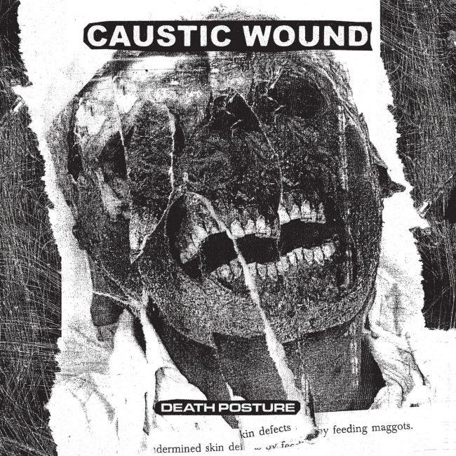 Death Posture LP sleeve