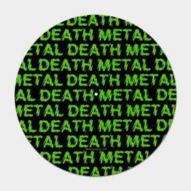 Death Metal Slipmat in green
