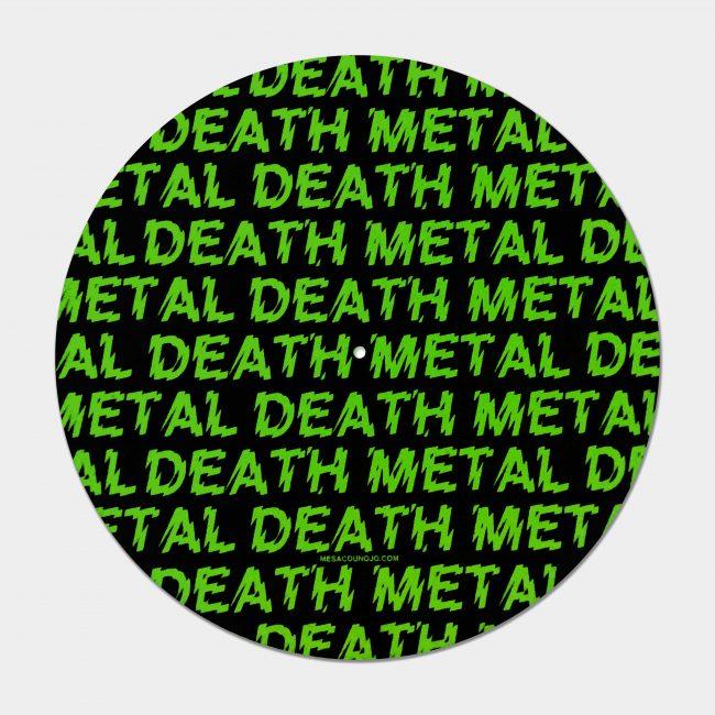 Death Metal Slipmat in green