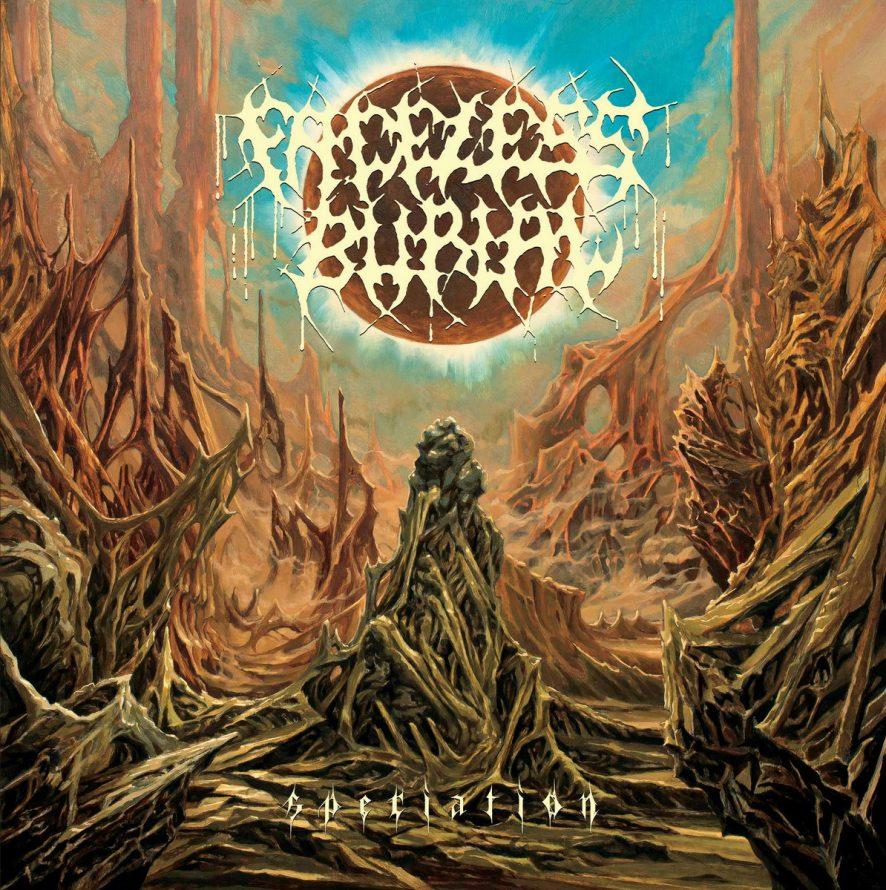 Faceless Burial 'Speciation' album artwork