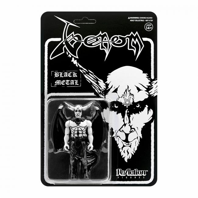 Super7 Venom Black Metal toy