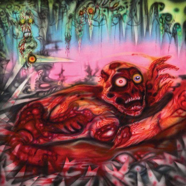 Gutless / Mortal split LP co-release with Maggot Stomp
