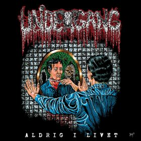 Undergang album artwork for Aldrig i livet