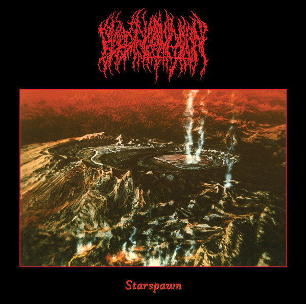 BLOOD INCANTATION Starspawn album artwork