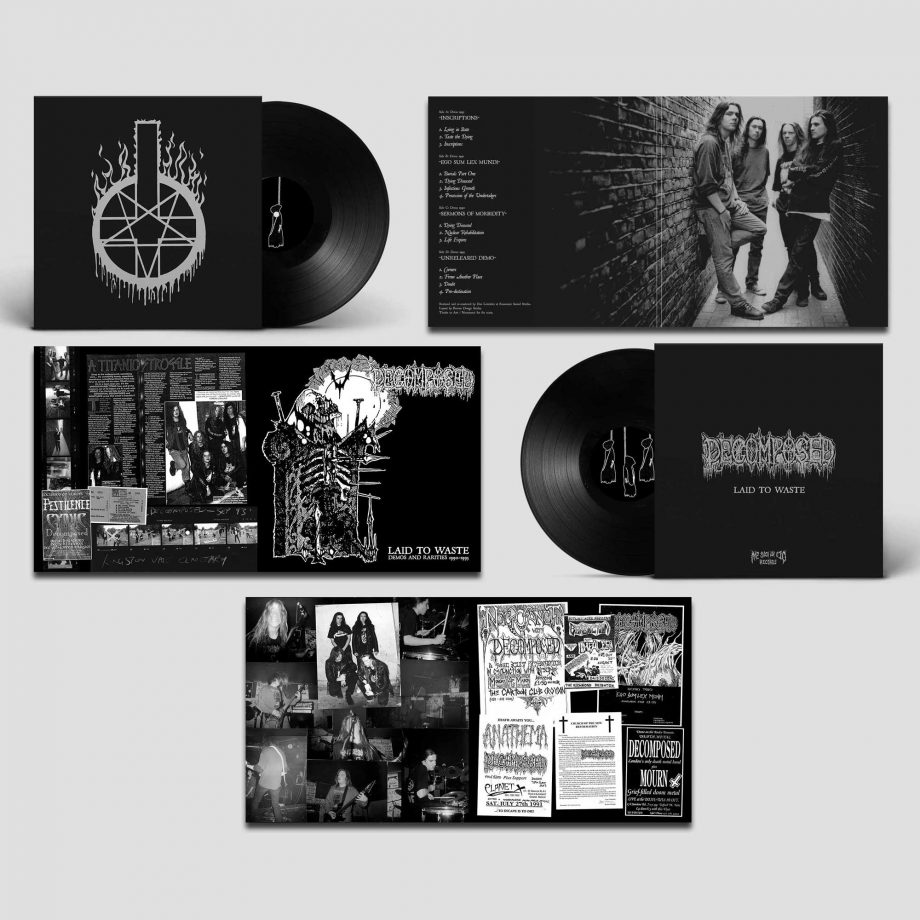 Decomposed – Laid To Waste 2LP