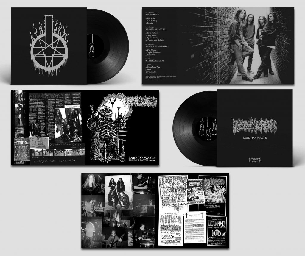 Decomposed Demos double LP layout