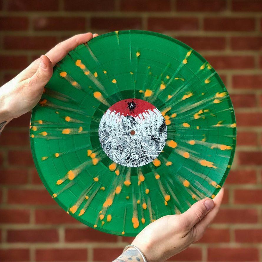 Til døden os skiller vinyl repress
