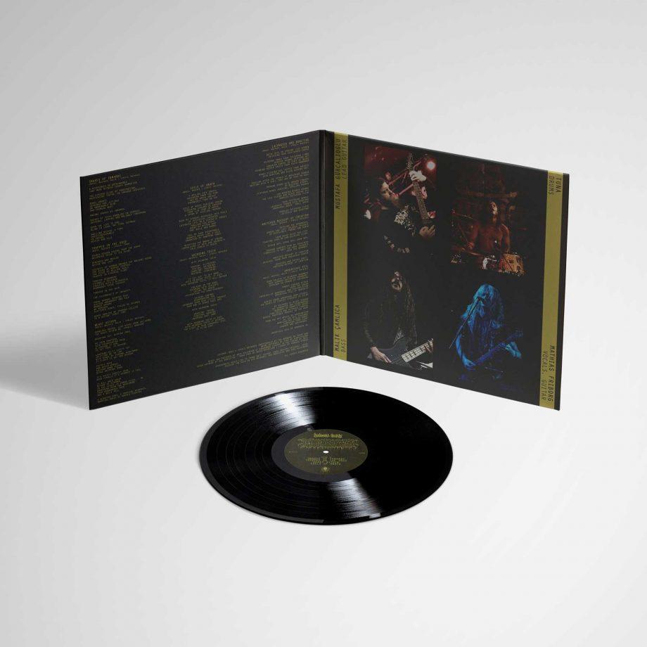 Hyperdontia Hideous Entity album gatefold vinyl