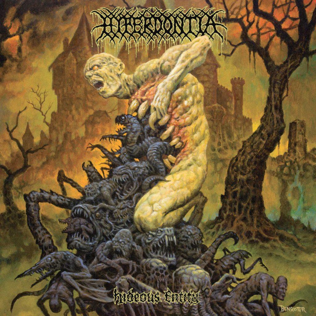 Hyperdontia Hideous Entity album artwork